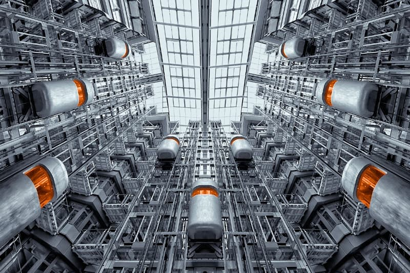 instalación eléctrica de un ascensor